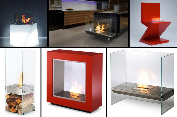 1 indoor ventless ethanol fireplaces