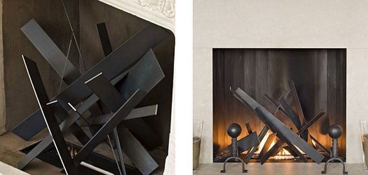 11 metal fireplace grills cathy azria