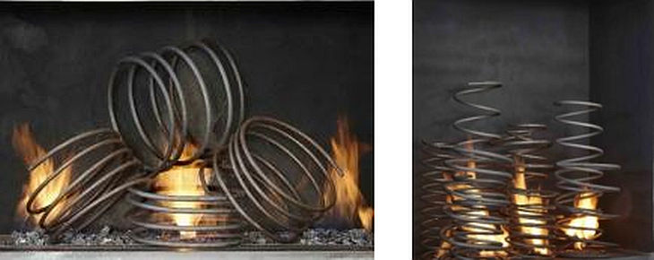 12 metal fireplace grills cathy azria