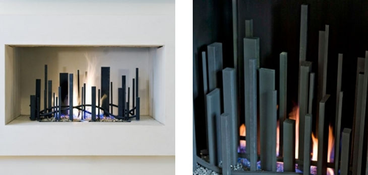 4 metal fireplace grills cathy azria