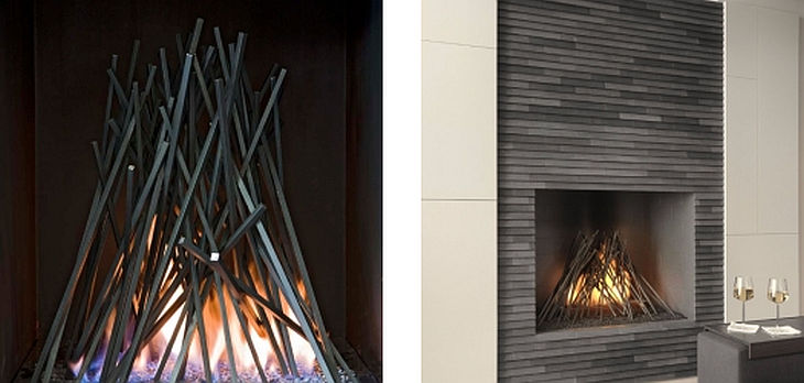 6 metal fireplace grills cathy azria