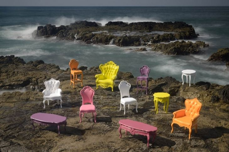 1 outdoor plastic seating traditional victorian shapes modern colours