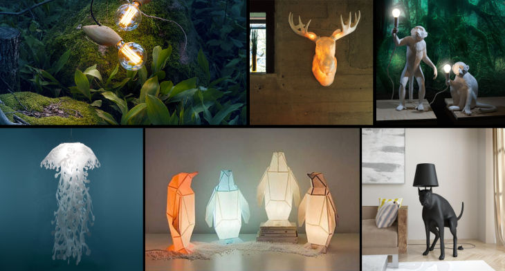 1 animal shaped lights