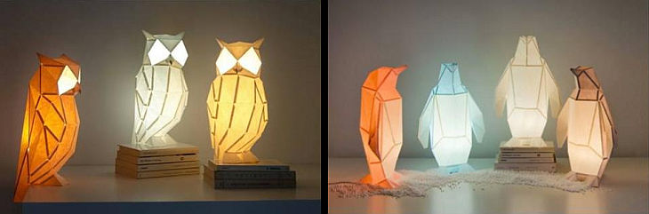9 animal shaped lights