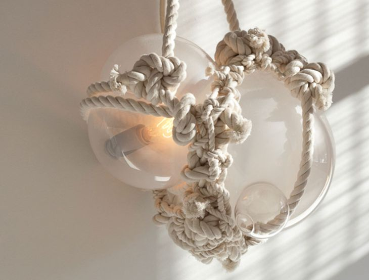 10 knotty bubbles lighting lindsey adelman nautically inspired