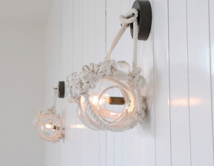 6 knotty bubbles lighting lindsey adelman nautically inspired